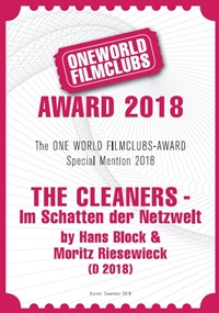 owfc award 2018 the cleaners special mention web